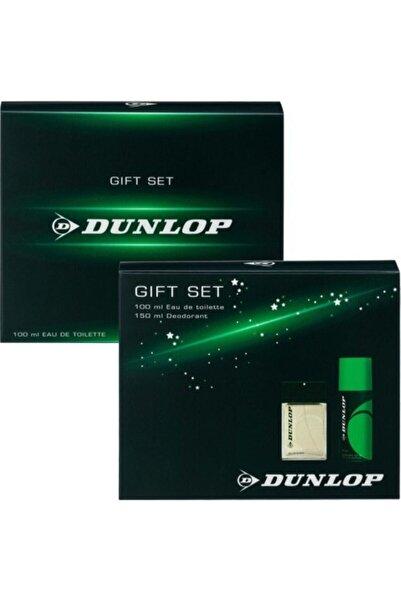 DUNLOP Klasik Yeşil 100ml Edt ve 150ml Deo Erkek Parfüm Seti  8690587202304