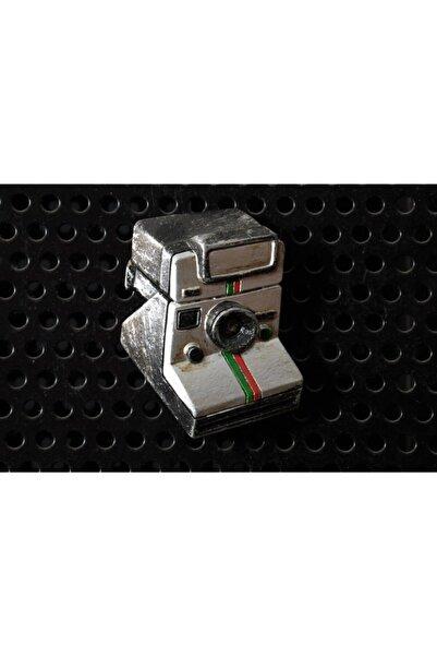By Zincir Dekoratif Buzdolabı Magneti - Nostaljik Fotoğraf Makinesi