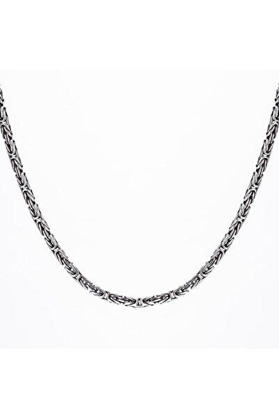 Candie Silver 4,5mm-60 Cm Kral Zincir 925 Ayar Gümüş Kolye