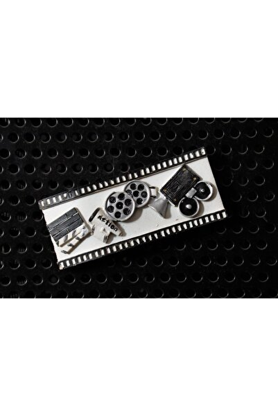 By Zincir Dekoratif Buzdolabı Magneti - Nostaljik Film Şeridi