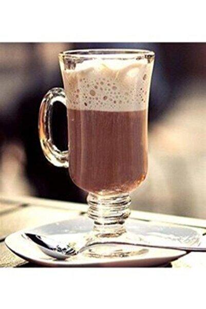MADAME LUDA Frenc 3'lü Kulplu Latte Coffe Bardağı