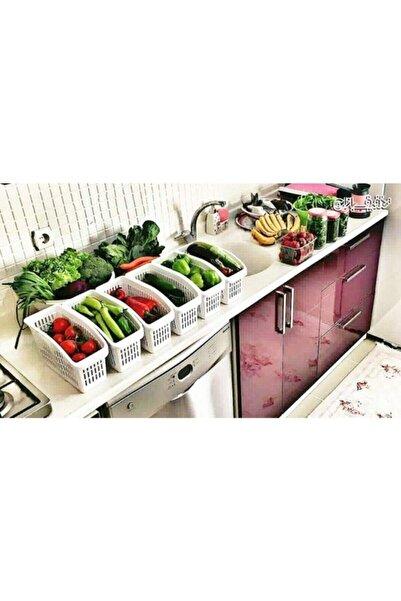 Marketonya 6 Adet Buzdolabı Sepeti Düzenleyici Sepet