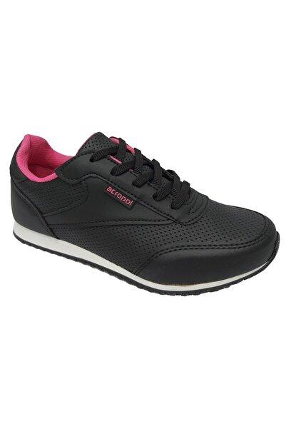Cheta Kadın Siyah Fuşya Spor Ayakkabı