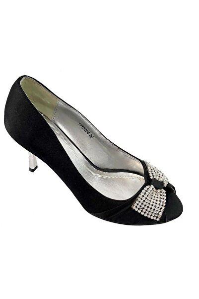 Vogue Kadın Siyah Topuklu Ayakkabı