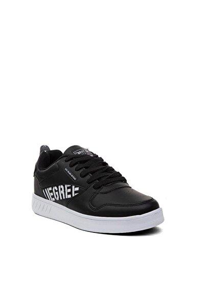 Cheta Unisex Siyah Deri Spor Ayakkabı