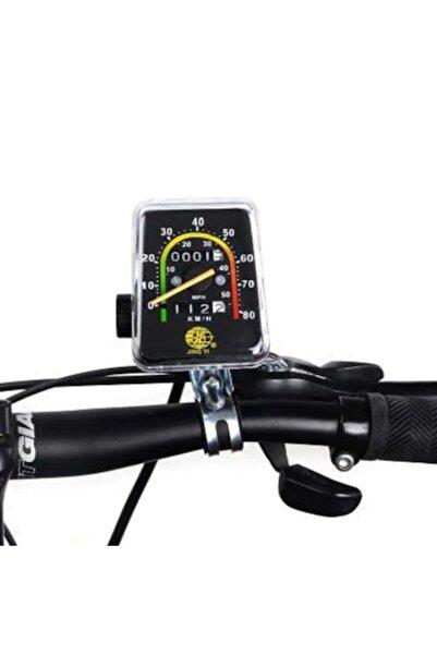 KNT Bisiklet Analog Ibreli Kilometre Saati Mekanik Hız Göstergesi