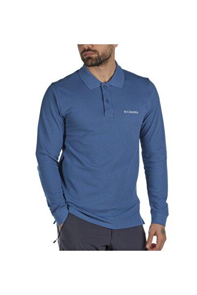 Columbia M Cascade Range Solid Uzun Kollu Erkek Polo T-shirt