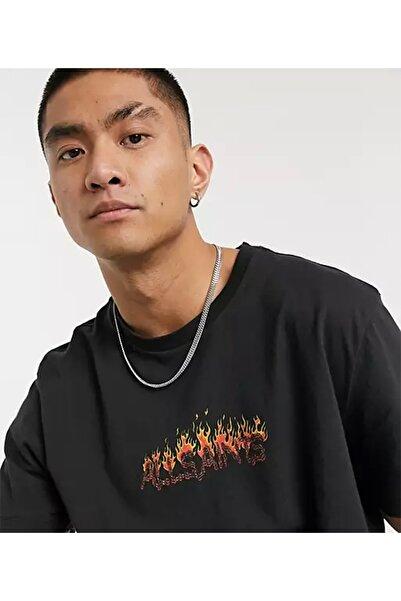 AllSaints Molten Crew Siyah T-shirt