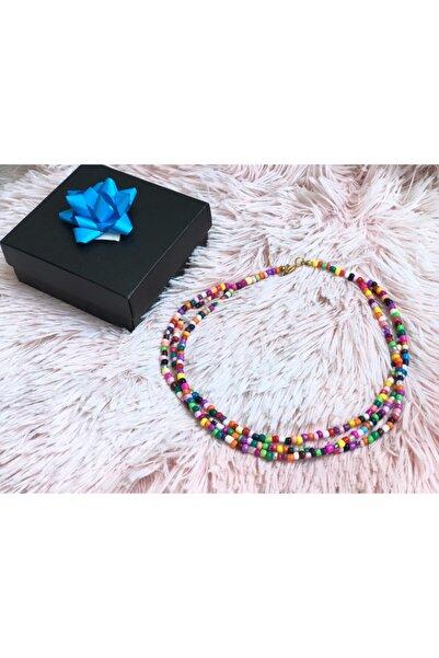 Lotus Triad Color Kolye