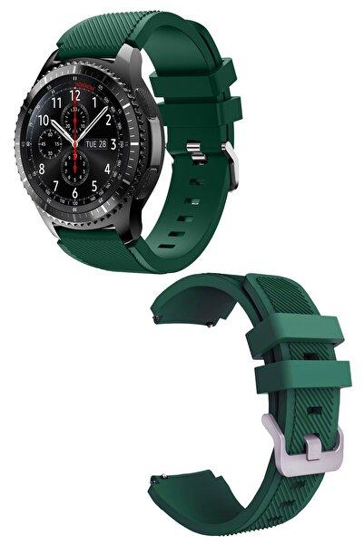 EKTAİS Huawei Gt / Gt 2 - Honor Magic Watch 2 46mm - Samsung Gear Watch 46mm Silikon Kordon Kayış A+ Kalite