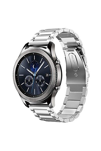 Huawei Watch Gt/gt2/gt2 Pro Uyumlu Klasik Paslanmaz Çelik Metal Kordon 46mm