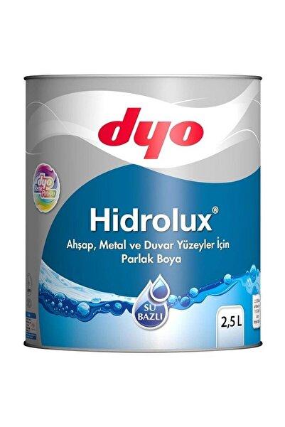 Dyo Hidrolüx 2,5 Litre Beyaz Su Bazlı Ahşap Metal Boyası