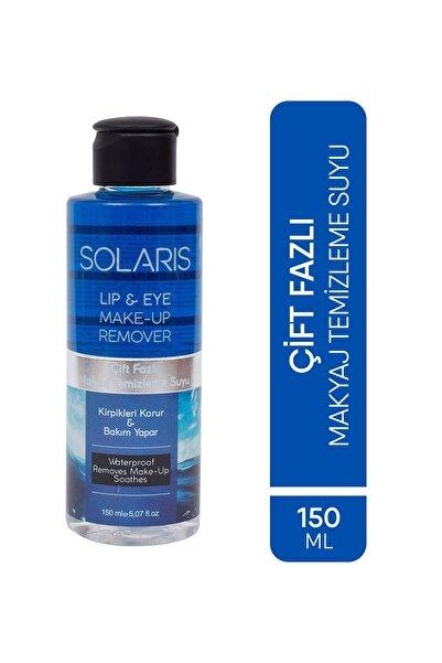 SOLARIS Göz Makyaj Temizleme Suyu Çift Fazlı 150 ml