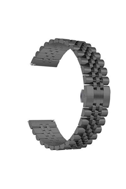 Huawei Watch Gt/gt2/gt2 Pro Uyumlu Rolex Tasarım Çelik Metal Kordon 46 mm