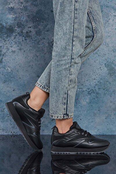 DARK SEER Full Siyah Kadın Sneaker