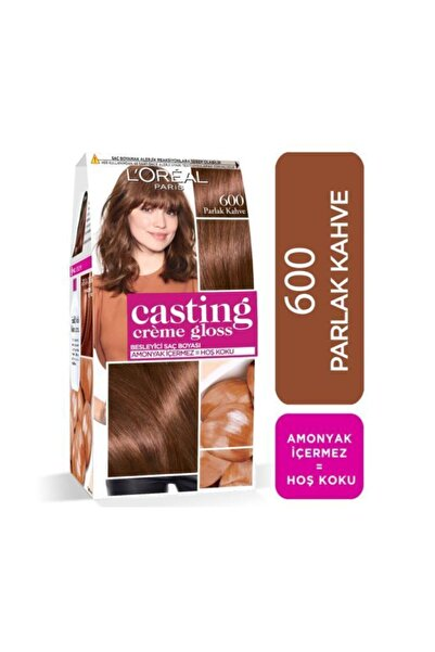 L'Oreal Paris L'oréal Paris Casting Crème Gloss Saç Boyası 600 Parlak Kahve
