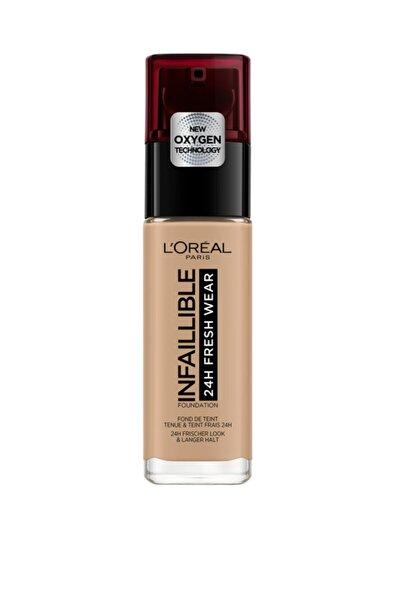 L'Oreal Paris Uzun Süre Kalıcı Fondöten - Infaillible 24H Fresh Wear 230 Radiant Honey 30 ml 3600523614462