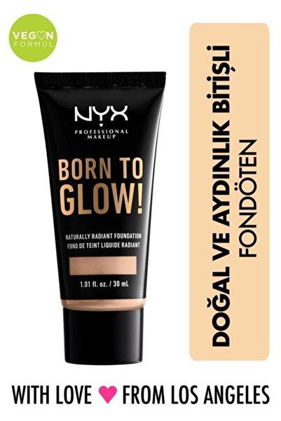 NYX Professional Makeup Fondöten - Born To Glow! Naturally Radiant Foundation 5 Light 800897190330