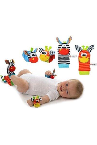 Sozzy Oyuncaklı Çıngıraklı Çorappatik Ve El Bilekliği /