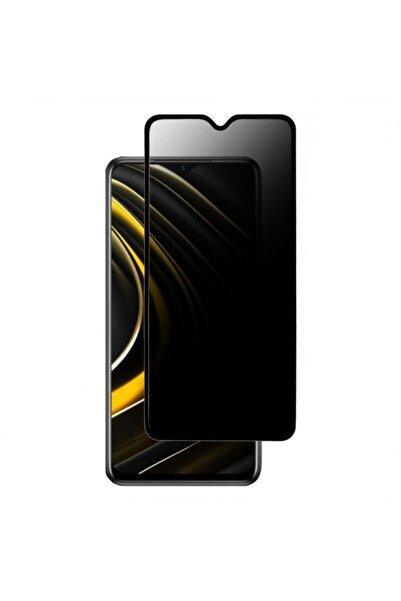 Bufalo Oppo A15 / A15s Uyumlu Hayalet Privacy Gizli Cam Ekran Koruyucu Siyah