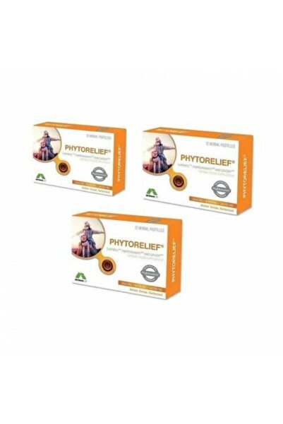 Phytorelief-CC Phytorelief 12'li Pastil-3 Kutu