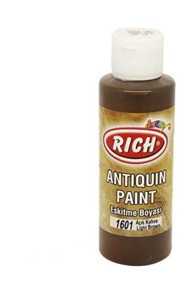 Rich Antiquing Paint Eskitme Ahşap Boyası 130 ml. 1601 Açık Kahve
