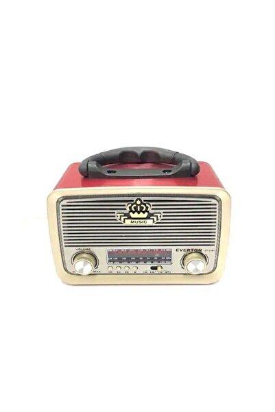 EvimShopping Bantlı Bluetooth Radyo Everton Rt-301 Kırmızı Renk