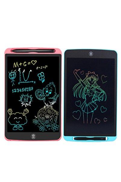 Mindplus 12'inc Grafik Digital Çocuk Yazı Tahtası Çizim Tableti Lcd Ekran Grafik -pembe