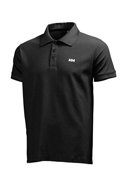 Helly Hansen Driftline Erkek Polo T-shirt Siyah