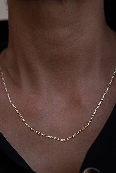 Bayar Gold 14 Ayar Altın Valentino Zincir Kolye