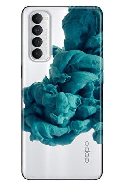 Reno 4 Pro Kılıf Pure Modern Desenli Silikon Egzotik Karışım
