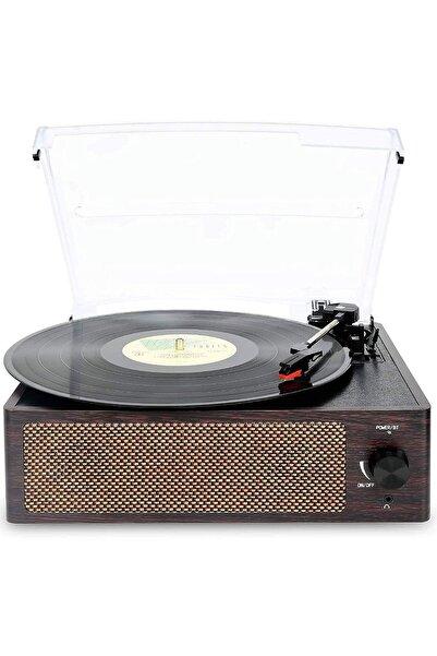 Record Master T218 Bluetooth Özellikli Pikap 33 45 78 Devir