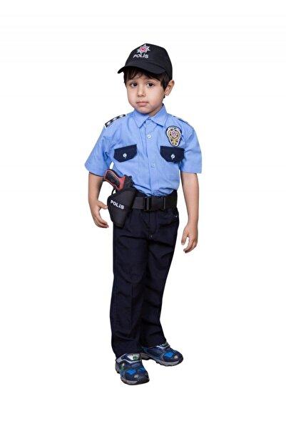 Safari Yazlık Kısa Kollu Kadro Çocuk Polis Kıyafeti