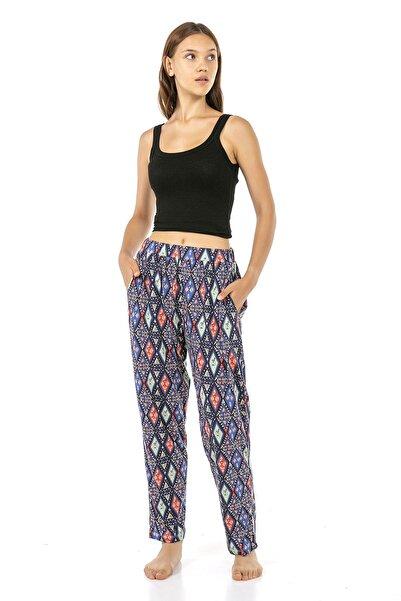 VISHENKA Kadın Penye Modal Pijama Altı/ Büyük Beden