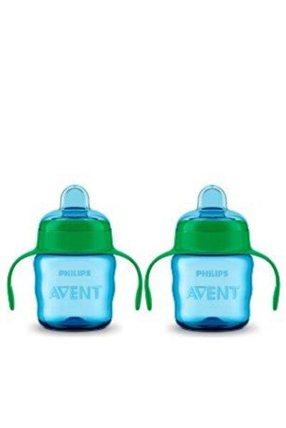 Philips Avent Erkek Çocuk Eğitici Damlatmaz Bardak 6 Ay 200 ml X 2 Adet