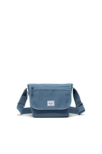 herschel Grade Mini Woven Blue Mirage Omuz Çantası
