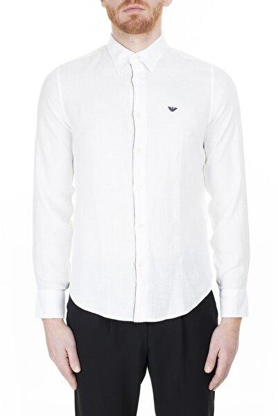 Emporio Armani Regular Fit Gömlek Erkek Gömlek 3H1Cp5 1Njız 0100