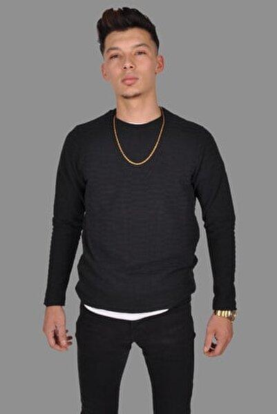 Erkek Siyah Triko Kazak