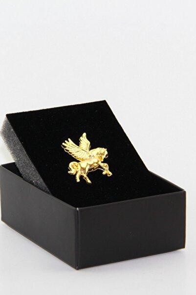 Zaim Aksesuar Gold Pegasus Broş 115