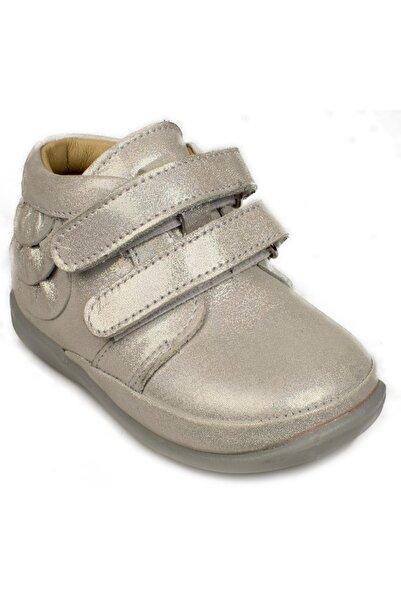 Perlina Kız Çocuk Gri Bantlı Spor Ayakkabı