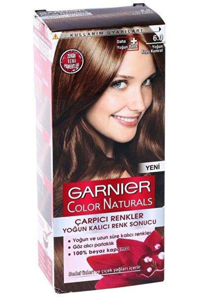 Garnier Çarpıcı Renkler Saç Boyası 6.0 Yoğun Koyu Kumral