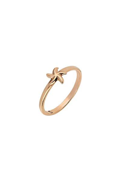 So CHIC... Deniz Yıldızı Rose Gold Gümüş Yüzük
