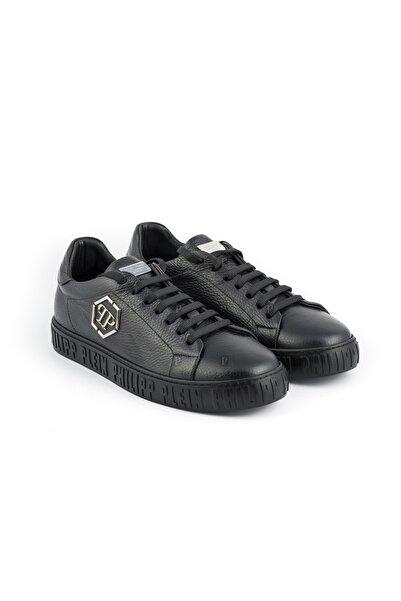 PHILIPP PLEIN Erkek Siyah Sneakers