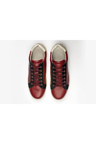 Giorgio Armani Erkek Kırmızı Sneakers