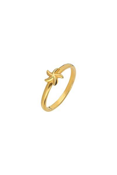 So CHIC... Deniz Yıldızı Gold Gümüş Yüzük