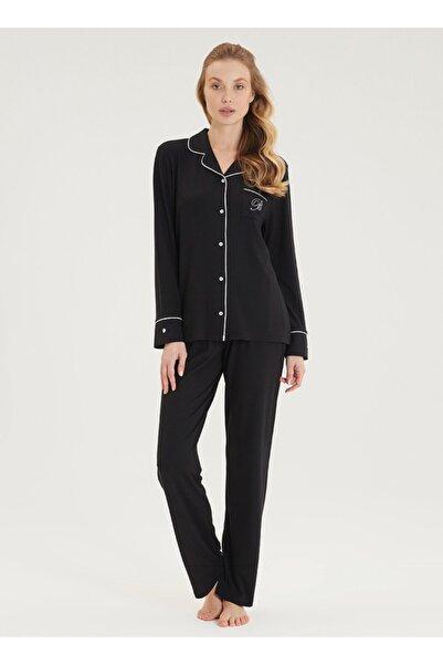 Blackspade Kadın Pijama Takımı 50419 - Siyah