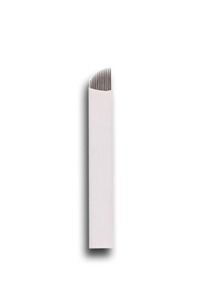 ARMONİKONYA 5 Adet 12 Pin Kalıcı Makyaj Dövme Microblading Iğnesi