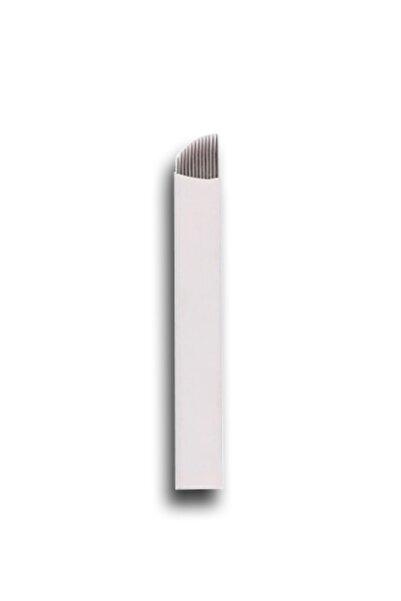 ARMONİKONYA 5 Adet 14 Pin Kalıcı Makyaj Dövme Microblading Iğnesi