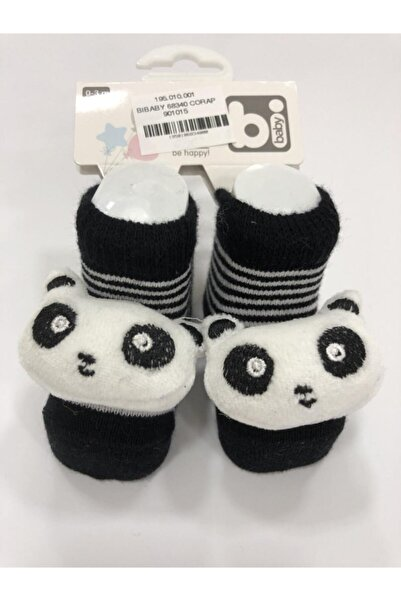 Bibaby 68340 Çorap Siyah Panda