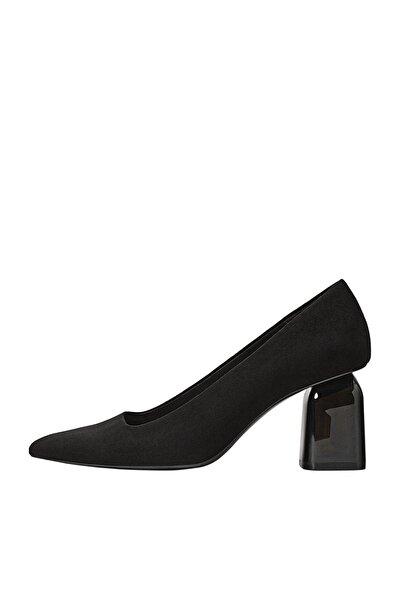 Stradivarius Kadın Siyah Metakrilat Yüksek Topuklu Ayakkabı 19654670